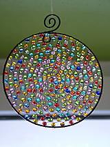 - deň je krásny priemer 10cm -dekorácia - 4624789_