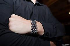 Šperky - Pružný european III - pánský náramek - 4629126_