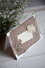 Papiernictvo - Svadobná pohľadnica - Rustic #2 - 4625924_