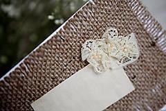 Papiernictvo - Svadobná pohľadnica - Rustic #2 - 4625926_