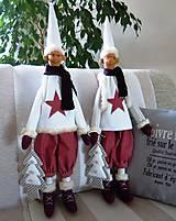 Bábiky - Vianočný škriatok - 4624500_