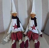 Bábiky - Vianočný škriatok - 4624503_