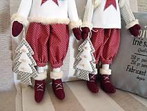 Bábiky - Vianočný škriatok - 4624505_