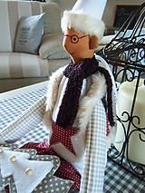 Bábiky - Vianočný škriatok - 4624507_