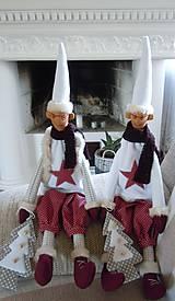 Bábiky - Vianočný škriatok - 4624508_