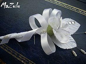 Pierka - svadobné pierko č.20 - 4627493_