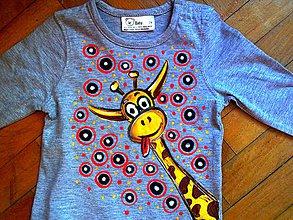 Detské oblečenie - Žirafka špekulantka - 4626661_