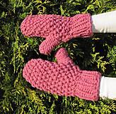 Rukavice - ruKohreje ružové k setíku - 4624674_