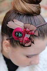 Ozdoby do vlasov - vianočná - 4627427_