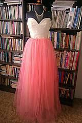 Svadba - marhuľová sukňa na ples  - 4627855_