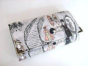 Peňaženky - Boutique de Paris - 17 cm, na spoustu karet - 4628858_