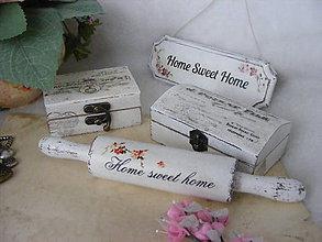 Dekorácie - Home Sweet Home ... / valček - 4625335_