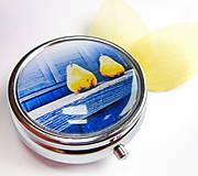 Krabičky - lékovka Hrušková žlutá - 4626758_