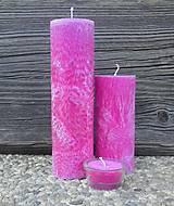 Sada sviečok - rubín