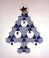 Vianoce - Vianočný textilný stromček 2. - 4625638_