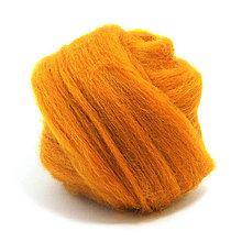 Textil - Merino vlna - 25 g (Amber) - 4626550_