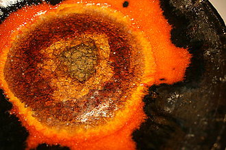 Nádoby - Keramická misa oranžová - 4631068_