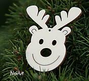 Vianoce - Vianočná dekorácia SOBÍK - 4630525_