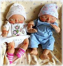 Hračky - ♥ Malé látkové bábo pre malé maminy ♥ - 4631275_