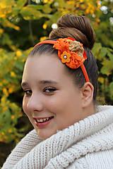 Ozdoby do vlasov - jesenná - 4631379_