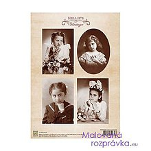 Papier - Vintage kolekcia Nellies - 4634138_