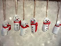 Vianoce - snehuliaci - 4632737_
