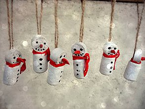Dekorácie - snehuliaci - 4632737_