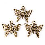 Prívesok motýlik