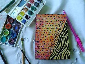 Papiernictvo - vybodkovaný do farieb - 4630815_