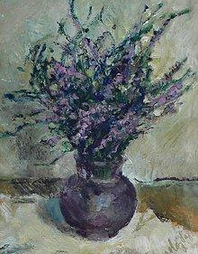 Obrazy - Poľné kvety - 4630941_