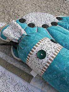 Úžitkový textil - Krajina divých kvetov No.2 - válec :) - 4634260_