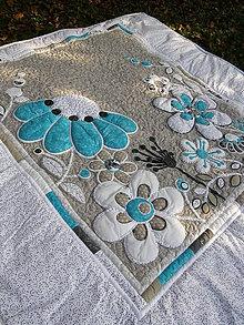 Úžitkový textil - Krajina divých kvetov No.2...:)) - 4634563_