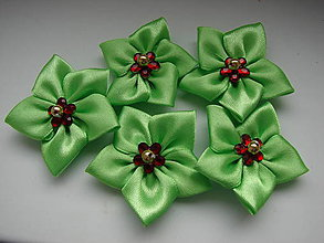 Galantéria - látkové kvety - 4635270_
