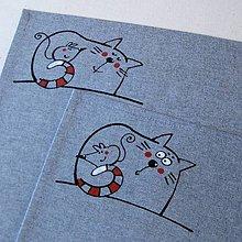 Úžitkový textil - NA OCÁSKU ;o) - prostírání - 4638234_