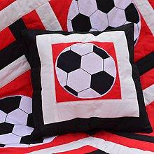 Textil - Červená futbalová. - 4637283_
