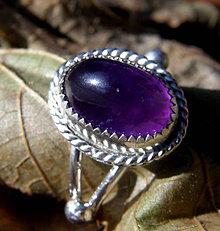 Prstene - Krásný ametyst - 4635214_