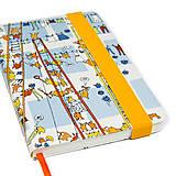 Papiernictvo - Zápisník A5 Sušenie prádla - 4638280_
