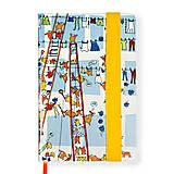 Papiernictvo - Zápisník A5 Sušenie prádla - 4638282_