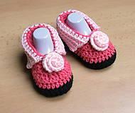 Topánočky - Ružové papučky - 4642359_