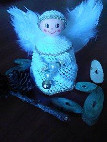 Dekorácie - Anjel - 4641525_