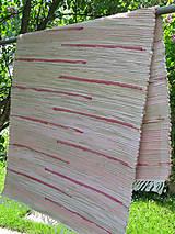 Úžitkový textil - tkaný koberec - 4644382_
