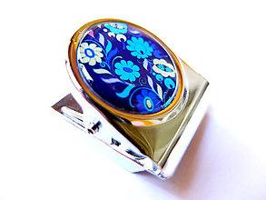 Magnetky - Magnetka so štipcom na odkazy Ctibor 3 - 4641083_