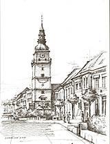 Kresba - moje milované mesto - na želanie