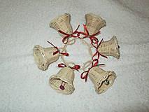 Dekorácie - sada malých zvončekov - 4642514_