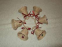 Dekorácie - sada malých zvončekov - 4642515_