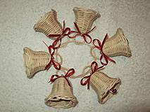 Dekorácie - sada malých zvončekov - 4642517_