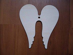 Polotovary - Anjelské krídla - dekorácia - 4648565_