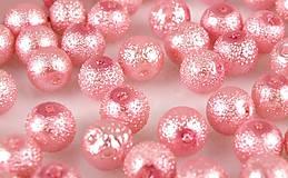 Korálky - Voskované perly Ø 12mm vrúbkované - 4645310_