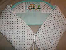 Textil - Mantinel  do  postieľky, obojstranný - 4648898_