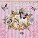 Papier - 355 mačičky - 4646651_